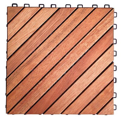 Eucalyptus 11 x 11 Interlocking Deck Tiles