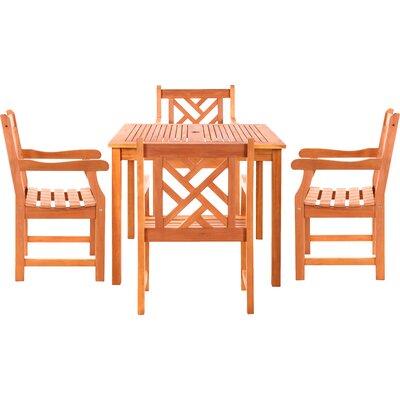 Danis 5 Piece Dining Set