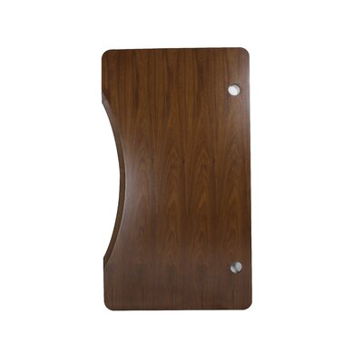 Rectangular Table Top Finish: Walnut