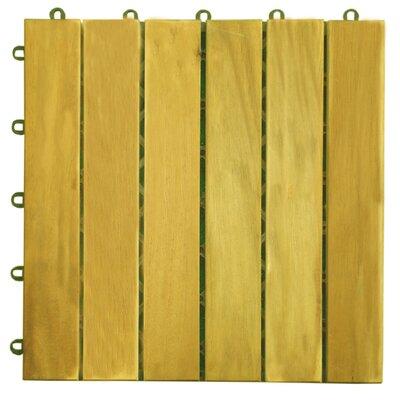 Acacia 12 x 12 Deck Tiles