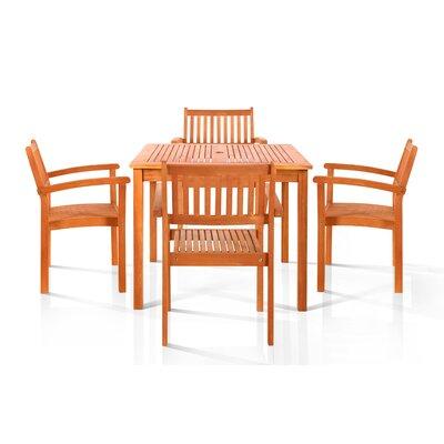 Hardwick 5 Piece Dining Set