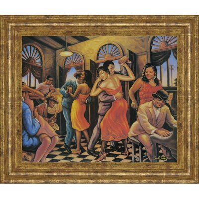 Promotional Line Framed Painting Print 356