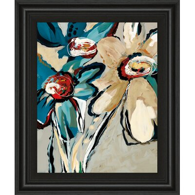 Blooming Blue II by A. Maritz Framed Painting Print 8123