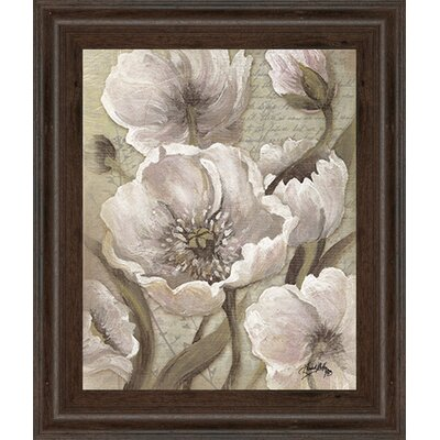 Scripted Beauty II by Elizabeth Medley Framed Painting Print 8145