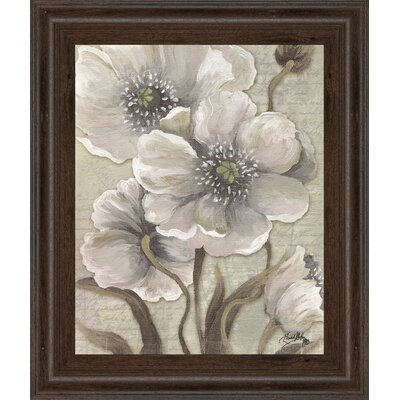 Scripted Beauty I by Elizabeth Medley Framed Painting Print 8146