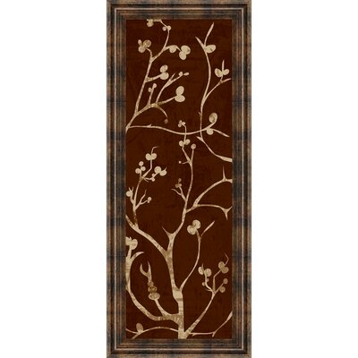 Branching Out I By Diane Stimson Framed Painting Print