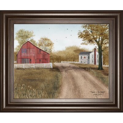 'Summer in the Country' Framed Photographic Print