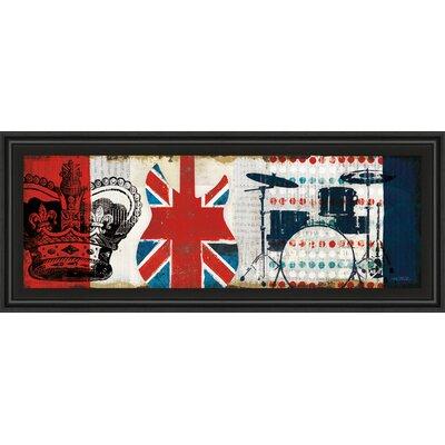 British Invasion Ii By Mo Mullan Framed Graphic Art