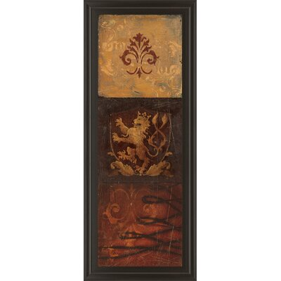 Regal Panel II by Avery Tillmon Framed Graphic Art 1429