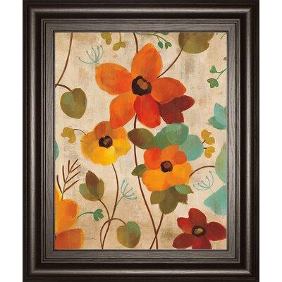 Vibrant Embroidery III by Silvia Vassileva Framed Painting Print 8044