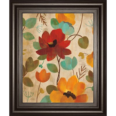 Vibrant Embroidery II by Silvia Vassileva Framed Painting Print 8045