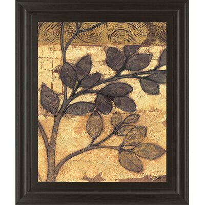 Branches Ii By Norman Wyatt, Jr. Framed Painting Print In Bronzed