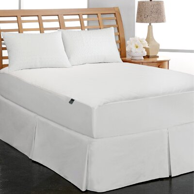 Coral Fleece Water Proof Mattress Pad Topper Size: King