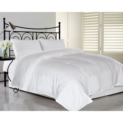 240 Thread Count All Season Down Comforter Size: Full / Queen