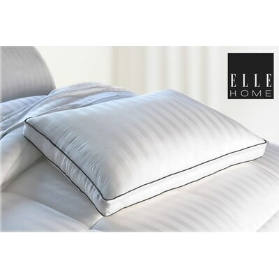 300 Thread Count Bamboo Viscose Multi-Stripe Down Alternative Polyfill Queen Pillow