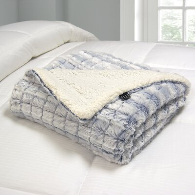 Polyester Throw Color: Blue
