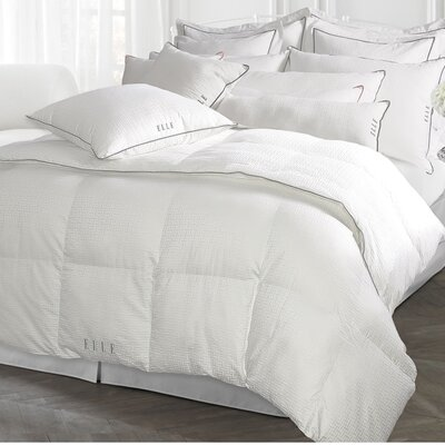 Damask All Season Down Alternative Comforter Size: Full/Queen