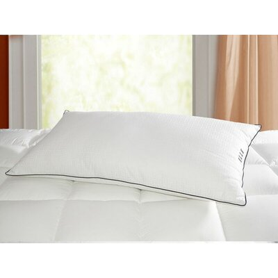 500 Thread Count 100% Cotton Cover Down Alternative Polyfill Pillow Size: King