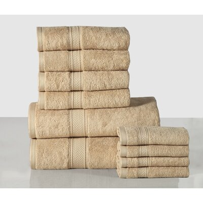 Delfausse 10 Piece Towel Set