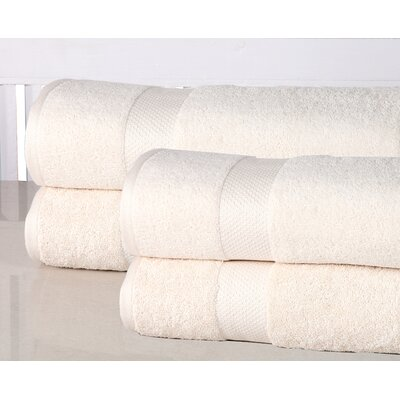 Oversized Luxurious Bath Sheet Color: Ivory