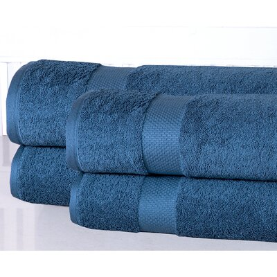 Oversized Luxurious Bath Sheet Color: Blue Stone