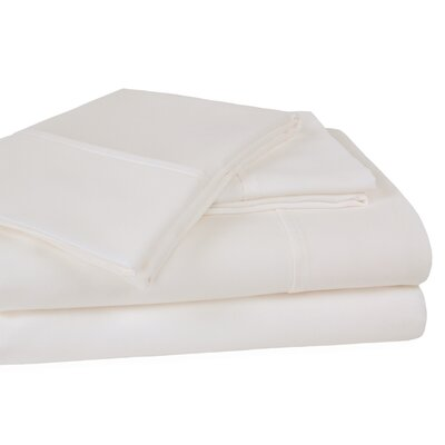 400 Thread Count 100% Cotton Sheet Set Color: Ivory, Size: California King