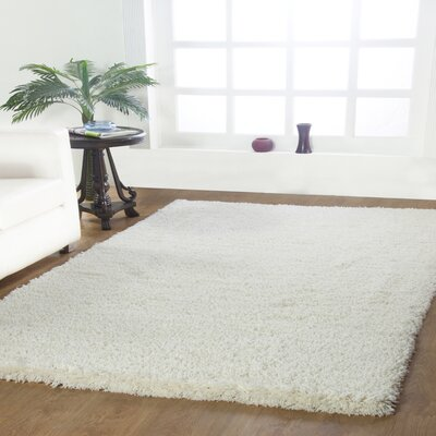 Affinity Hand-woven Cream Area Rug Rug Size: Rectangle 4 x 6