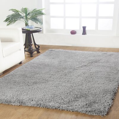 Affinity Hand-woven Silver Area Rug Rug Size: Rectangle 4 x 6
