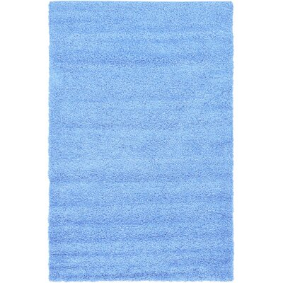 Affinity Hand-woven Blue Area Rug Rug Size: 3 x 5