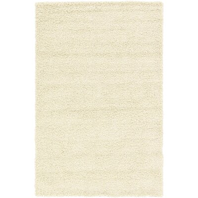 Affinity Hand-woven Cream Area Rug Rug Size: 8 x 10