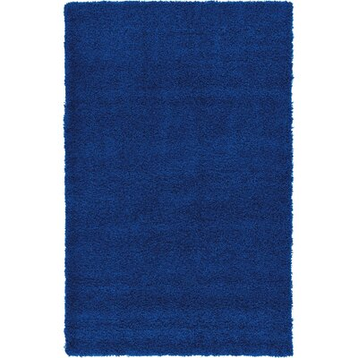 Affinity Hand-woven Navy Area Rug Rug Size: Rectangle 5 x 8