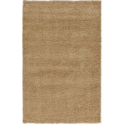 Affinity Hand-woven Taupe Area Rug Rug Size: Rectangle 5 x 8