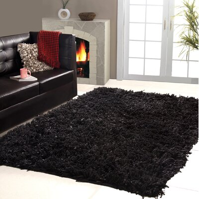 Affinity Home Collection Hand Wooven Cozy Shag Area Rug