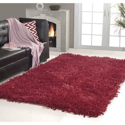 Affinity Home Collection Hand Woven Cozy Shag Area Rug
