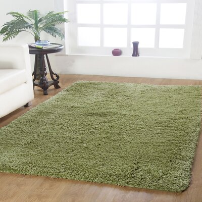 Affinity Hand-woven Sage Area Rug Rug Size: 8 x 10