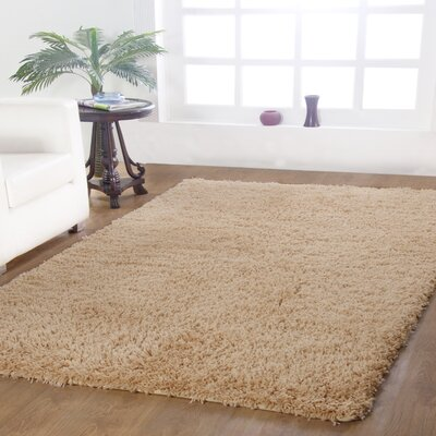 Affinity Hand-woven Taupe Area Rug Rug Size: 3 x 5