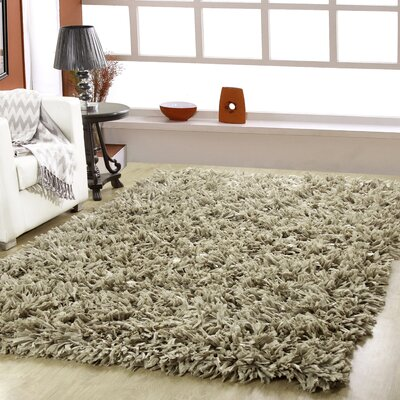 Calcote Hand-Woven Taupe Area Rug
