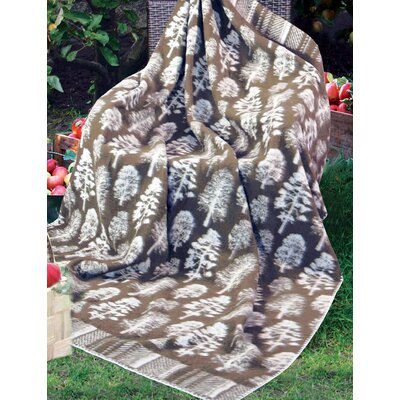 Jacquard Design Cotton Blanket