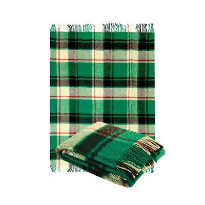 Classic Tarten Design Wool Throw Blanket