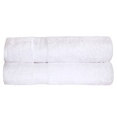 Toni Bath Towel Color: White
