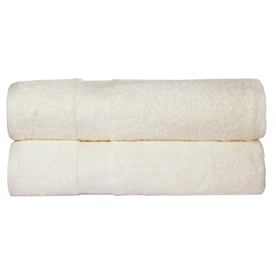 Toni Bath Towel Color: Ivory