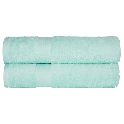 Toni Bath Towel Color: Aqua Green