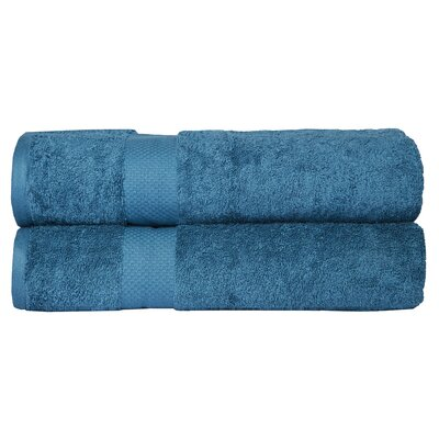 Bath Towel Color: Blue Stone