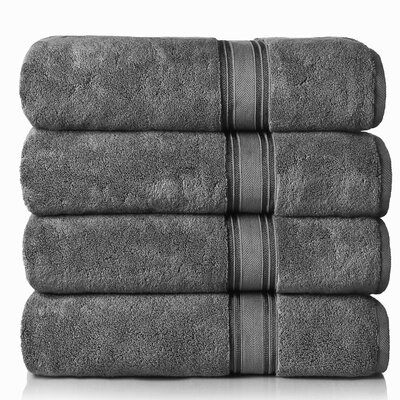 Super Absorb Bath Sheet Color: Gray
