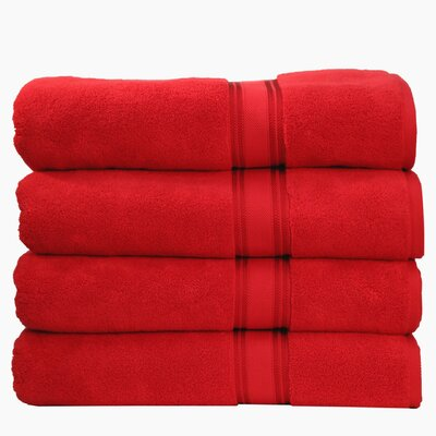 Super Absorb Bath Sheet Color: Ruby Red