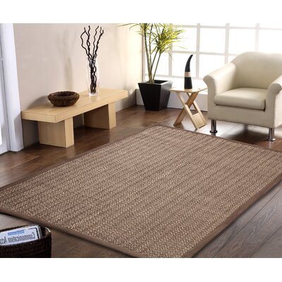 Chereen Eco Friendly Handmade Brown Area Rug