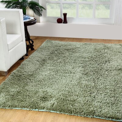 Affinity Hand-woven Sage Area Rug Rug Size: 3 x 5