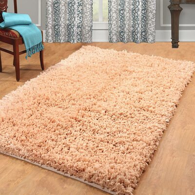 Hand Woven Shag Linen Area Rug Rug Size: Rectangle 3 x 5