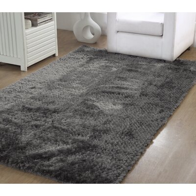 Horst Shag Hand-Woven Gray Indoor/Outdoor Area Rug