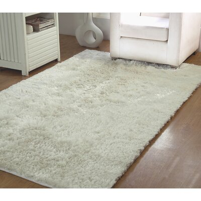 Horst Shag Hand-Woven Ivory Indoor/Outdoor Area Rug